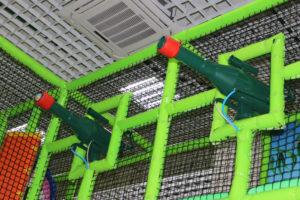 Пушки в лабиринте Лео